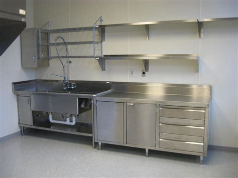 stainless steel solid kitchen shelving stainless steel kitchen floating shelves and sink cabinet