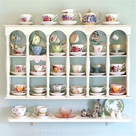 tea cup shelf best 25 vintage teacups ideas on tea cups