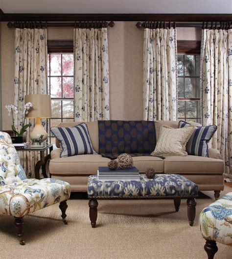 palladian window treatments living room traditional