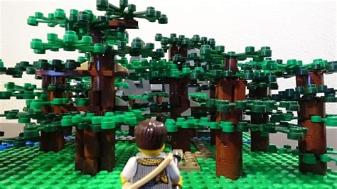 lego fantasy forest micro moc building ideas episode