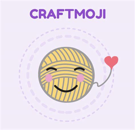 craftmoji yarn crochet  craft emojis repeat crafter