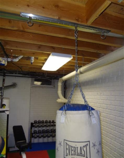 Heavy Bag Ceiling Mount by Install Tuffrail Heavy Bag Mounting Application Into Your