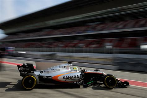 Perez Completes 39 Laps On The Opening Day Of Winter