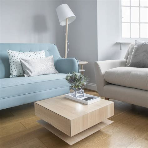 Great savings & free delivery / collection on many items. oak coffee table for small spaces by urbansize ...