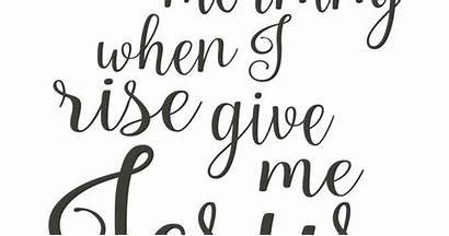 Give Jesus Rise Morning Printable