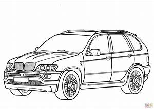 Bmw x5 coloring page free printable coloring pages for Bmw x5 e53