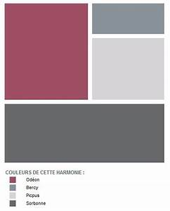 Le Mauve Se Marie Avec Quelle Couleur : un mois une couleur le rose od on se marie harmonieusement avec le gris sorbonne et le ~ Nature-et-papiers.com Idées de Décoration
