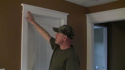 colonial house plan how to trim a craftsman style door pt 1