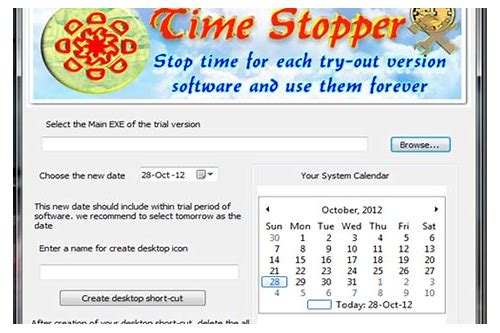 free download time stopper full version