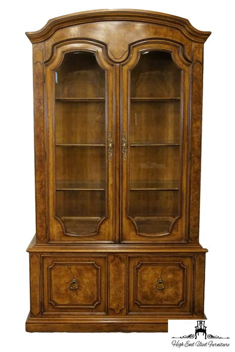 thomasville ceremony collection 50 lighted china cabinet