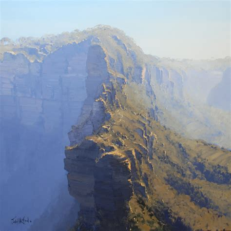 australian landscape paintings  john wilson