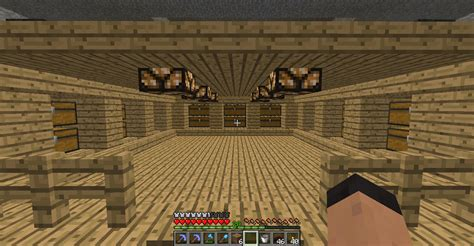 your storage room designs survival mode minecraft