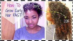 How To Grow Natural Curly Hair Faster In 12 Months