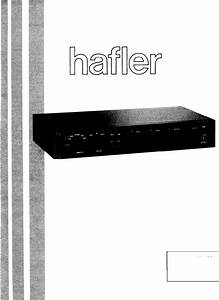 Hafler Stereo Amplifier Dh