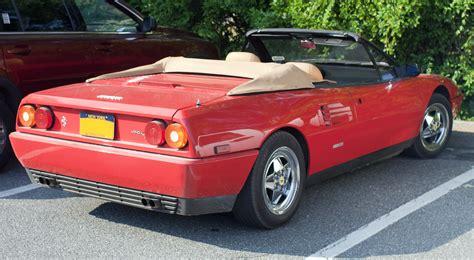 File:1991 Ferrari Mondial t cabriolet.jpg - Wikimedia Commons
