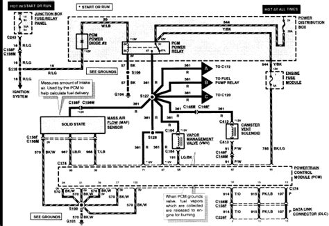 Electrical Wiring Diagram 1996 Ford F 150 by 97 F150 Pcm Fuse Wiring Diagram Ford F150 Forum