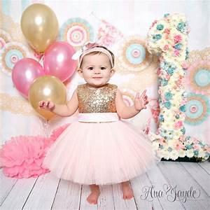 Princess Kate Dress (Gold & Pink) | Birthday dresses ...