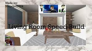 Aesthetic, Living, Room, Bloxburg