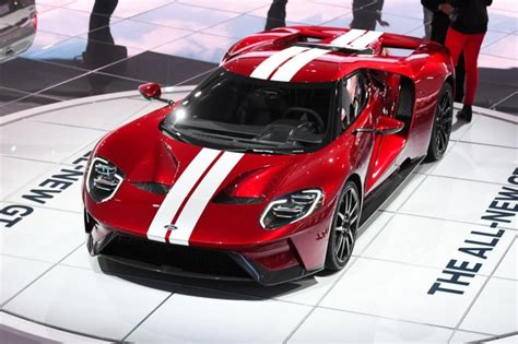 2017 Ford Gt Confirmed With 647 Hp, 216 Mph Top Speed