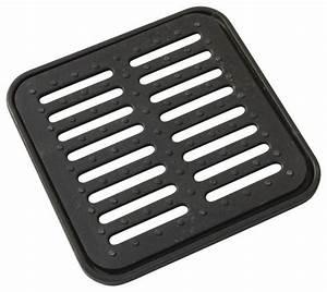Grille Gouttiere Brico Depot : grille en fonte ductible longueur 360 mm de couleur noire ~ Dailycaller-alerts.com Idées de Décoration