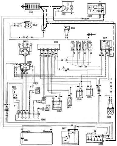 Fiat Panda Wiring Diagram by Renault 5 Gt Turbo Wiring Diagram 24h Schemes