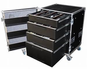 Case De Rangement : flight case de rangement s rie classique 4 tiroirs finition hexa audiofanzine ~ Teatrodelosmanantiales.com Idées de Décoration