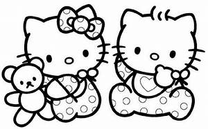 Coloriage Hello Kitty 4