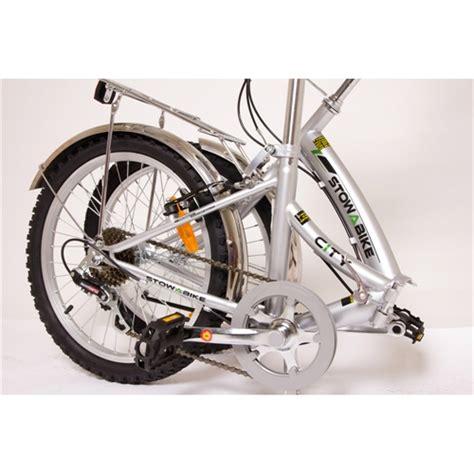 stowabike folding city compact bike the sports hq