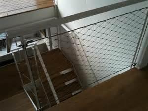 Filet De Protection Escalier Belgique by Protection Par Filets Inox Metal Art Design 224 Capelle La