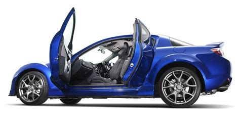 Blue Mazda RX8 HD Wallpaper - 9to5 Car Wallpapers