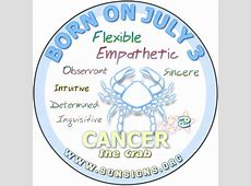 July 3 Zodiac Horoscope Birthday Personality SunSignsOrg