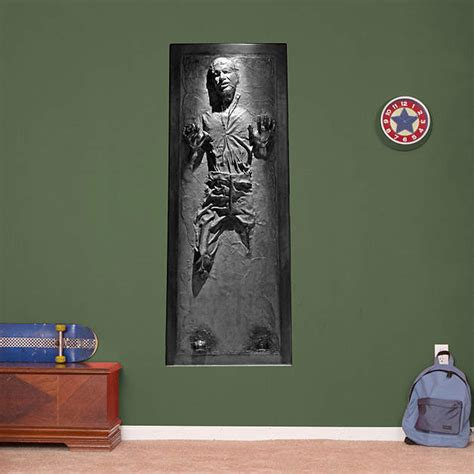 han solo in carbonite wall decal shop fathead 174 for star