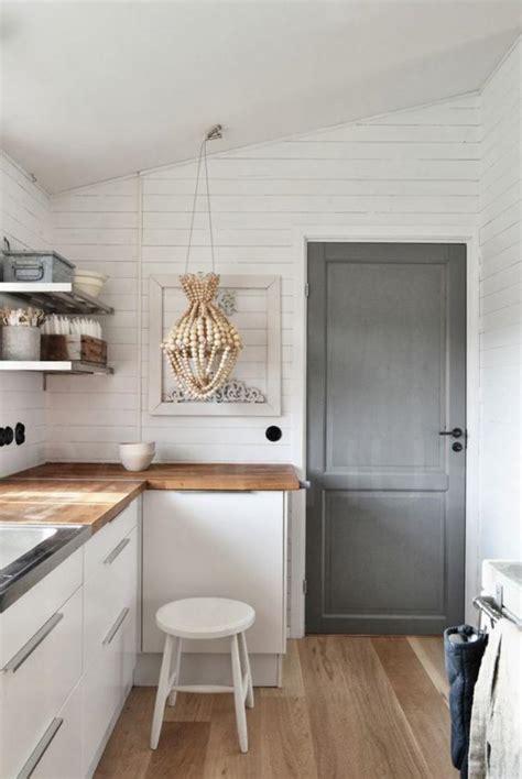 deco cuisine blanche decoration cuisine blanche et bois