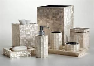 Accessoire Salle De Bain Luxe : jolie salle de bain accessoires ~ Dailycaller-alerts.com Idées de Décoration