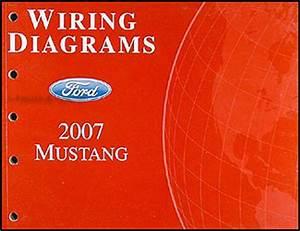 2007 Ford Mustang Wiring Diagram Manual Original