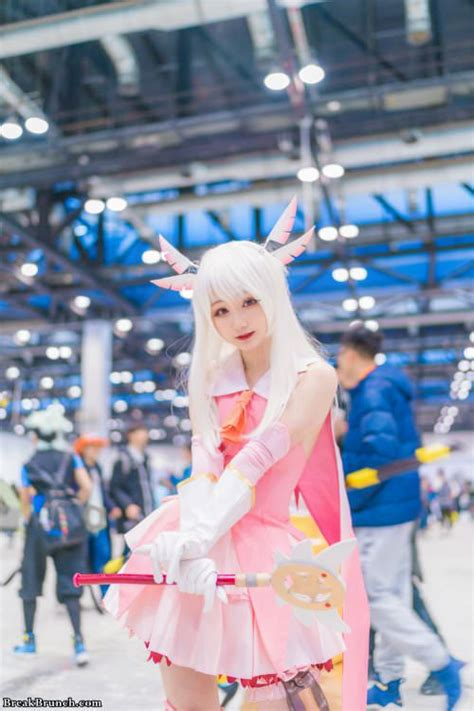 cute cosplay pictures  fatekaleid liner prisma illya