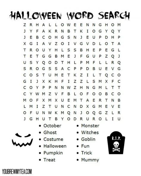 halloween printables roundup food crafts  family