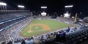 Seating Chart Dodger Stadium Rows Dodger Stadium Top Deck 12 Rateyourseats Com