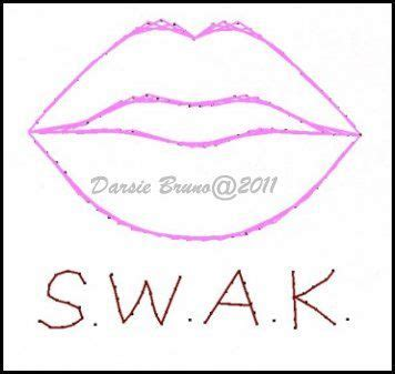 kiss valentine lips embroidery pattern  greeting cards