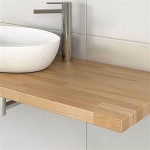Waschtischplatte Holz Aufsatzwaschtisch : waschtischplatte holz nach ma ~ Sanjose-hotels-ca.com Haus und Dekorationen