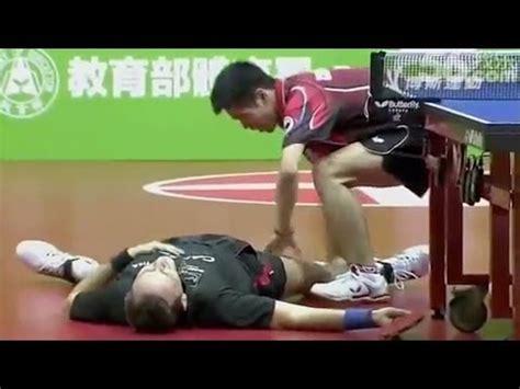 hilarious table tennis match   ben meme center