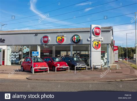 Fiat Dealerships by Showrooms Stock Photos Showrooms Stock Images Alamy