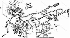 Honda Motorcycle 1985 Oem Parts Diagram For Wire Harness