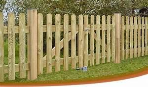 Portail Bois 4m : portillon de jardin en bois portail pas cher 4m carlier ~ Premium-room.com Idées de Décoration