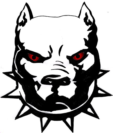 pit clipart black and white pit bull clipart cliparts co