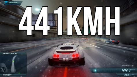 Bugatti Veyron Top Speed! (need For Speed Most Wanted 2012