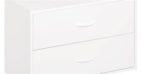 Closetmaid Chest Of Drawers by Closetmaid 2 Drawer Organizer White Target Or Fred