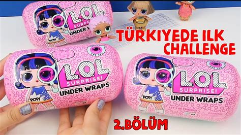 tuerkiyed lol surprise  wraps challenge jelly eye spy