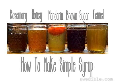 how to make simple syrup how to make simple syrup