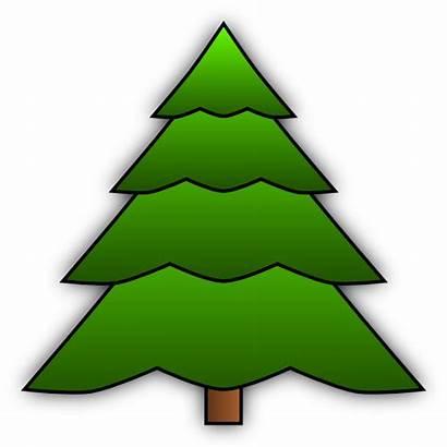 Tree Simple Clip Clipart Clker Cliparts Vector